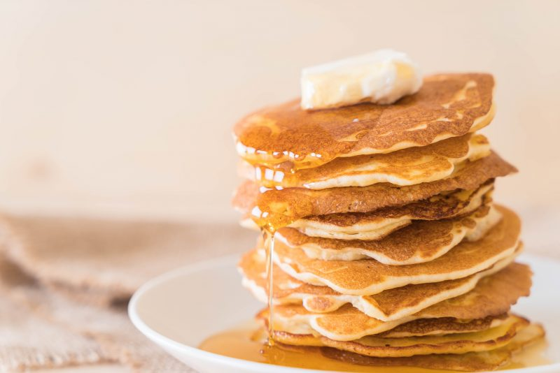 old-fashioned buttermilk pancakes