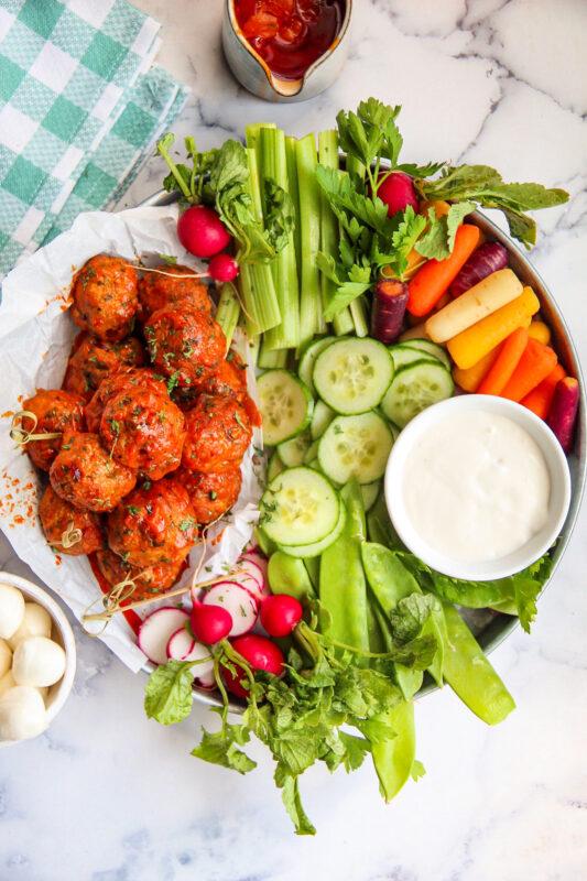 Chicken Buffalo Meatballs