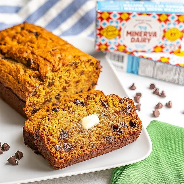 healthy chocolate chip bread
