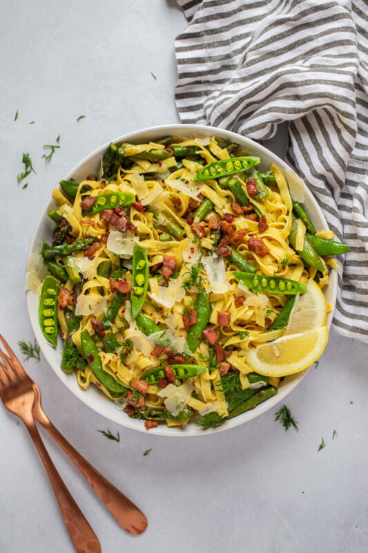 Springtime Lemon Pasta